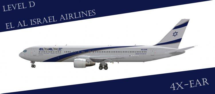 FS2004 Aircraft Liveries and Textures - Files - EL AL Israel