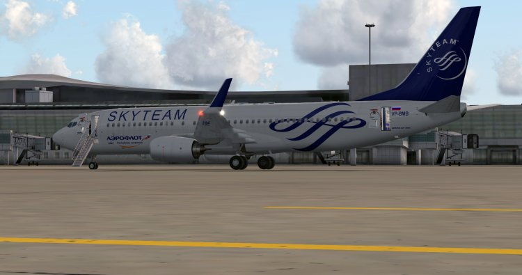 Files - TDS Boeing 737-800 Aeroflot SKYTEAM - Avsim su