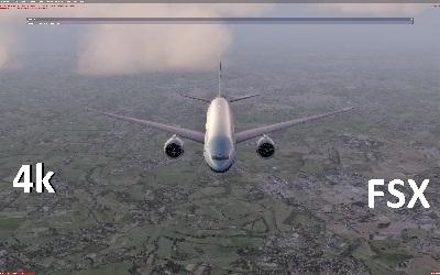 4K,8К a screenshot from the game _Prepar3D v3