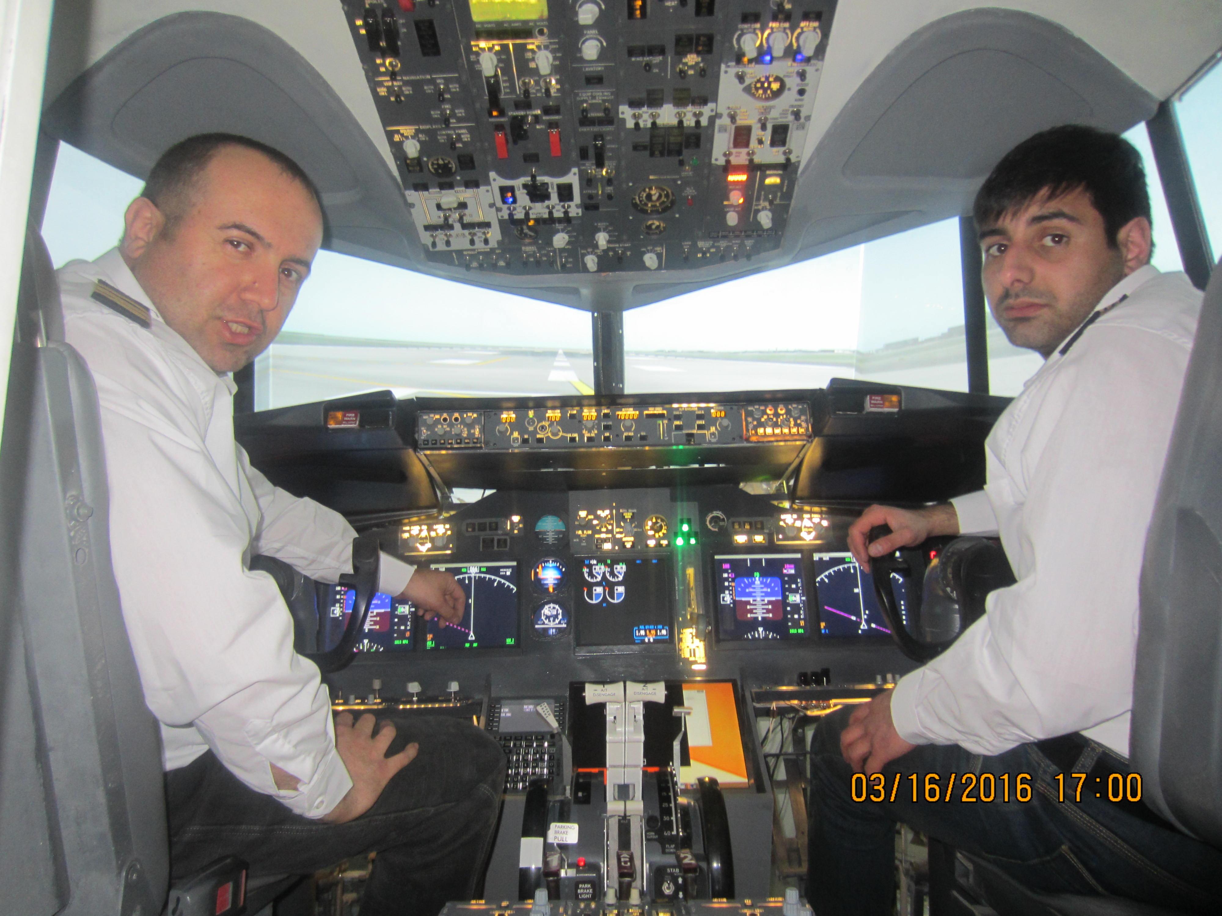 боинг 737 кабина