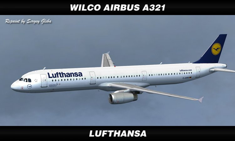 Wilco Airbus A321 - Lufthansa - FS2004 Aircraft Liveries and