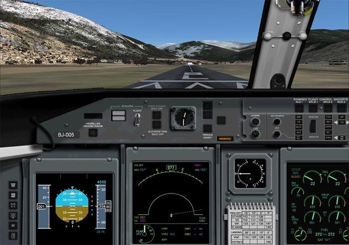 Files - Panel Bombardier Dash 8 Q400 for Microsoft Flight